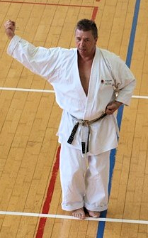 André Pint karate JKA